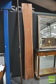 Sale 8392 - Lot 1014 - Plank of Australian Red Cedar (269 x 35cm)