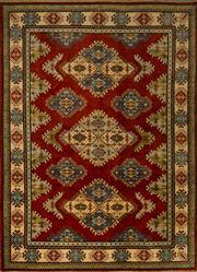 Sale 8439C - Lot 8 - Afghan Kazak 240cm x 175cm