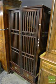 Sale 8472 - Lot 1008 - Tall Oriental Cabinet