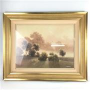 Sale 8545N - Lot 178 - Michael Taylor, oil on board (59cm x 44cm)