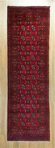 Sale 8625C - Lot 26 - Afghan Turkman 248cm x 80cm