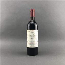 Sale 9120 - Lot 1061 - 1982 Chateau Branaire-Ducru, 4me Cru Classe, Saint-Julien - base of neck