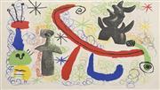 Sale 8696A - Lot 5077 - Joan Miró (1893 - 1983) - Miró, 1950 37.5 x 52.5cm
