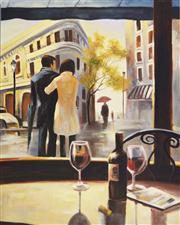 Sale 8411A - Lot 5022 - Artist Unknown (XX) - Parisian Scene 120 x 90cm
