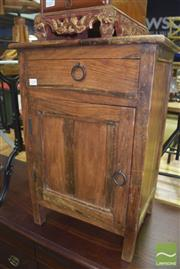 Sale 8390 - Lot 1188 - Timber Bedside Cabinet