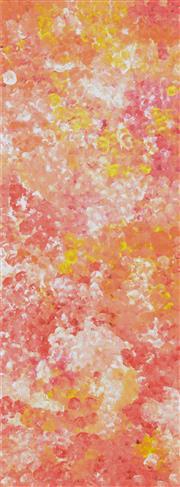 Sale 8459 - Lot 561 - Polly Ngale (c1936 - ) - Bush Plum (Ahtwerky) 206 x 70cm