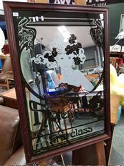Sale 8462 - Lot 1057 - Art Nouveau Style Mirror