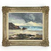 Sale 8545N - Lot 179 - Douglas Pratt, oil on board (50cm x 40cm)