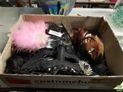 Sale 8582 - Lot 2301 - Group of Wigs, Masks, etc