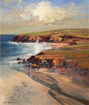 Sale 8657A - Lot 5046 - Mel Brigg - Coastal Landscape 40 x 34cm