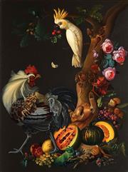 Sale 8773 - Lot 587 - Barbara Wenzel - Classical Still Life, 1999 122 x 91cm