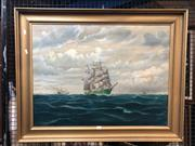 Sale 8797 - Lot 2048 - Barderssohn - Passing of Time, Oil, 59x78cm