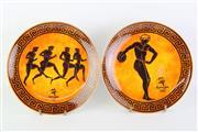 Sale 8818N - Lot 703 - Pair of Sydney Olympics Themed Wedgwood Plates