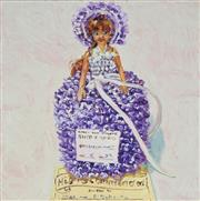 Sale 8929 - Lot 532 - Lucy Culliton (1966 - ) - Dressed Doll - Knitting, Lace, 2007 37.5 x 37.5 cm