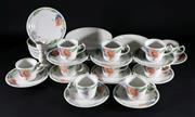 Sale 9003 - Lot 73 - Villeroy & Boch Amapola Teawares & Romantica Candle Stick & 2 Bowls