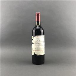 Sale 9120 - Lot 1062 - 1982 Chateau Branaire-Ducru, 4me Cru Classe, Saint-Julien - base of neck, damaged label