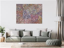 Sale 9171A - Lot 5035 - BESSIE PITJARA (c1960 - ) Bush Plum acrylic on canvas 151 x 200 cm (stretched and ready to hang) signed verso; certificate of authen...