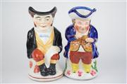 Sale 8381 - Lot 87 - Allertons Toby Jug with Another Toby Jug