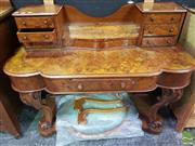 Sale 8495F - Lot 1005 - Burr Walnut Mirrored Back Dresser