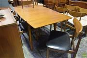 Sale 8550 - Lot 1059 - Koford Larson G-Plan Table & Set of Four Chairs