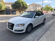 Sale 8576V - Lot 1 - 2012 Audi A3 TFSi Convertible                                                       Reg:  DXL 30R...