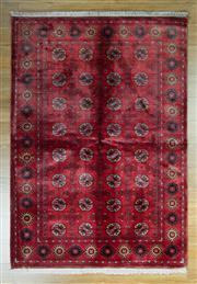 Sale 8625C - Lot 28 - Afghan Silk Mori Gul 115cm x 178cm