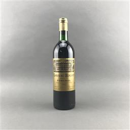Sale 9120 - Lot 1088 - 1982 Chateau Rouget, Pomerol - base of neck