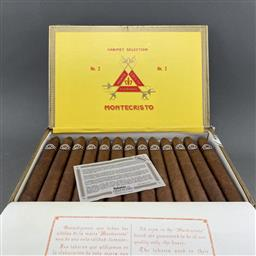 Sale 9120W - Lot 1438 - Montecristo 'No. 2' Cuban Cigars - box of 25, dated November 2016