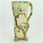 Sale 8413 - Lot 35 - Clarice Cliff Newport Pottery Cherry Trees Vase