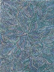 Sale 8459 - Lot 562 - Jeannie Petyarre (1956 - ) - Bush Yam Leaves 200 x 150cm