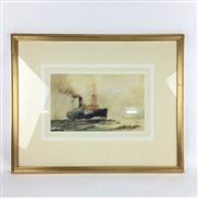 Sale 8545N - Lot 181 - John Alcott S.S Montoro, watercolour (31cm x 19cm)