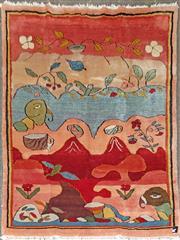 Sale 8868 - Lot 1528 - Afghan Gabbeh (275 x 102cm)