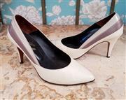 Sale 8448A - Lot 81 - Smart vintage 1940s Enzo Galli leather pumps Condition: very good Size 7.5