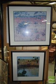 Sale 8506 - Lot 2081 - Pair of Clem Millward Decorative Prints (framed, various sizes)