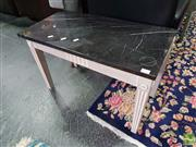 Sale 8554 - Lot 1051 - Marble Top Side Table