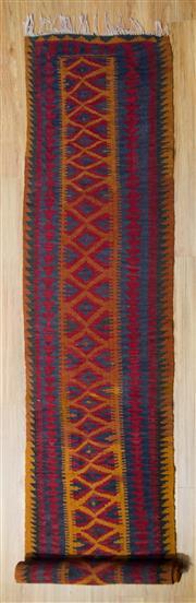 Sale 8576C - Lot 56 - Persian Kilim Runner 460cm x 83cm