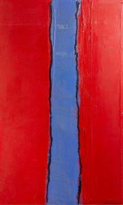 Sale 8595A - Lot 89 - Elisabeth Wadsworth - Impressions of Jodhpur 160 x 86cm