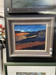 Sale 8924 - Lot 2006 - Daniel Pata (1952 - ) - Towards Sunset, Mt Banks Blue Mountains 1990 oil on board, 37.5 x 42cm -