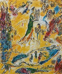 Sale 9108A - Lot 5083 - Marc Chagall (1887 - 1985) - Sorcerer of Music 75 x 56 cm (sheet)