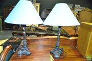 Sale 8386 - Lot 1032 - Pair of Table Lamps