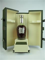 Sale 8411 - Lot 693 - 1x Chivas Brothers The Icon Blended Scotch Whisky - in crystal decanter bottle and leather presentation box