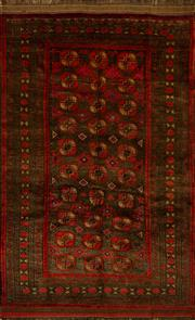 Sale 8424C - Lot 14 - Persian Turkman 244cm x 150cm
