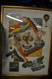 Sale 8453 - Lot 2092 - Melissa Markell (XX) - Lighter than Air 97.5 x 69cm