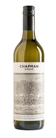 Sale 8515W - Lot 10 - 12x 2014 Chapman Grove Reserve Semillon Sauvignon Blanc, Margaret River.  95 Points – James Halliday Wine Companion.  2016 S...