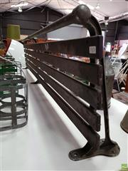 Sale 8625 - Lot 1073 - Vintage Luggage Rack