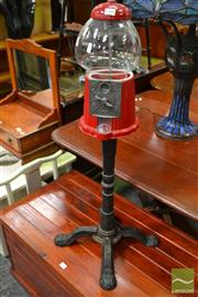 Sale 8489 - Lot 1040 - Gum Ball Machine