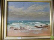 Sale 8513 - Lot 2073 - Seascape signed W.H. Hibble