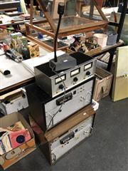 Sale 8819 - Lot 2330 - 2 Cassette Decks & Volt Meter