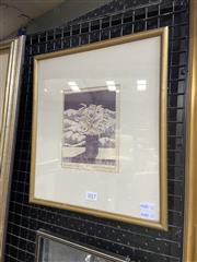 Sale 9041 - Lot 2020 - Carol Shepheard, Through and beyond, 1976, 34 x 30cm (frame), signed lower right