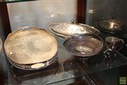 Sale 8288 - Lot 83 - Silver Plated Wares incl Tray